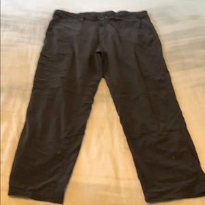 Men's Exofficio casual relaxed pants navy sz42
